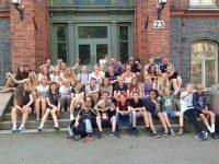 Spillere og trænere som var til stævne i Göteborg i sommer