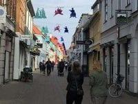 En pytet gadehimmel, foto: Helsingør kommune