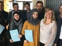 Diplom til Flygtninge, foto: Helsingør Kommune