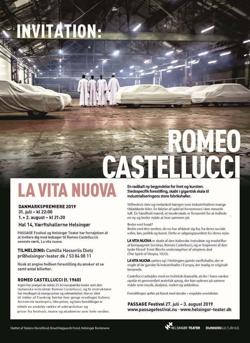 Romeo Castellucci kommer til Danmark