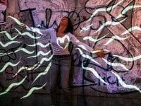 Dancing Graffiti Bandart, foto: Helsingør Teater