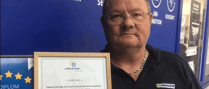 Flere SAGA Nord-virksomheder har fået diplom