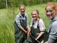 Juniorgeologer, foto: Helsingør Kommune